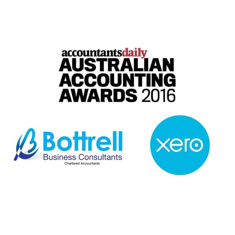 Bottrell asked join Xero table Australian Accounting awards