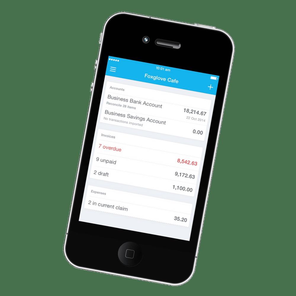 Xero Application Mobile