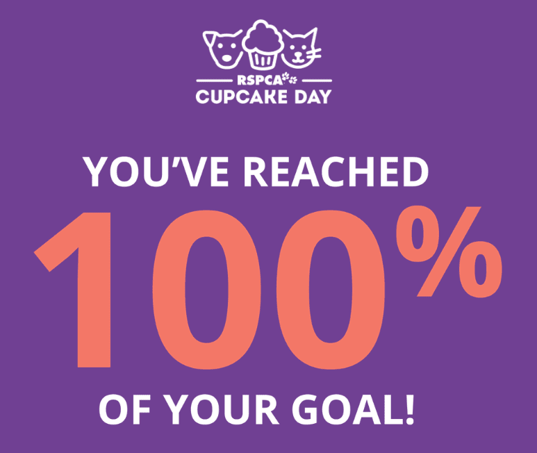 rspca cupcake day 2017