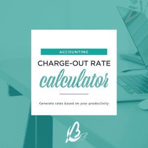 Accounting Chargeout Rate Calculator Bottrell Business Consultants