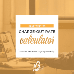 charge out rate construction Bottrell Business Consultants