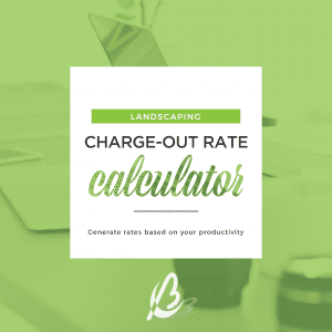 charge out rate landscaping Bottrell Business Consultants
